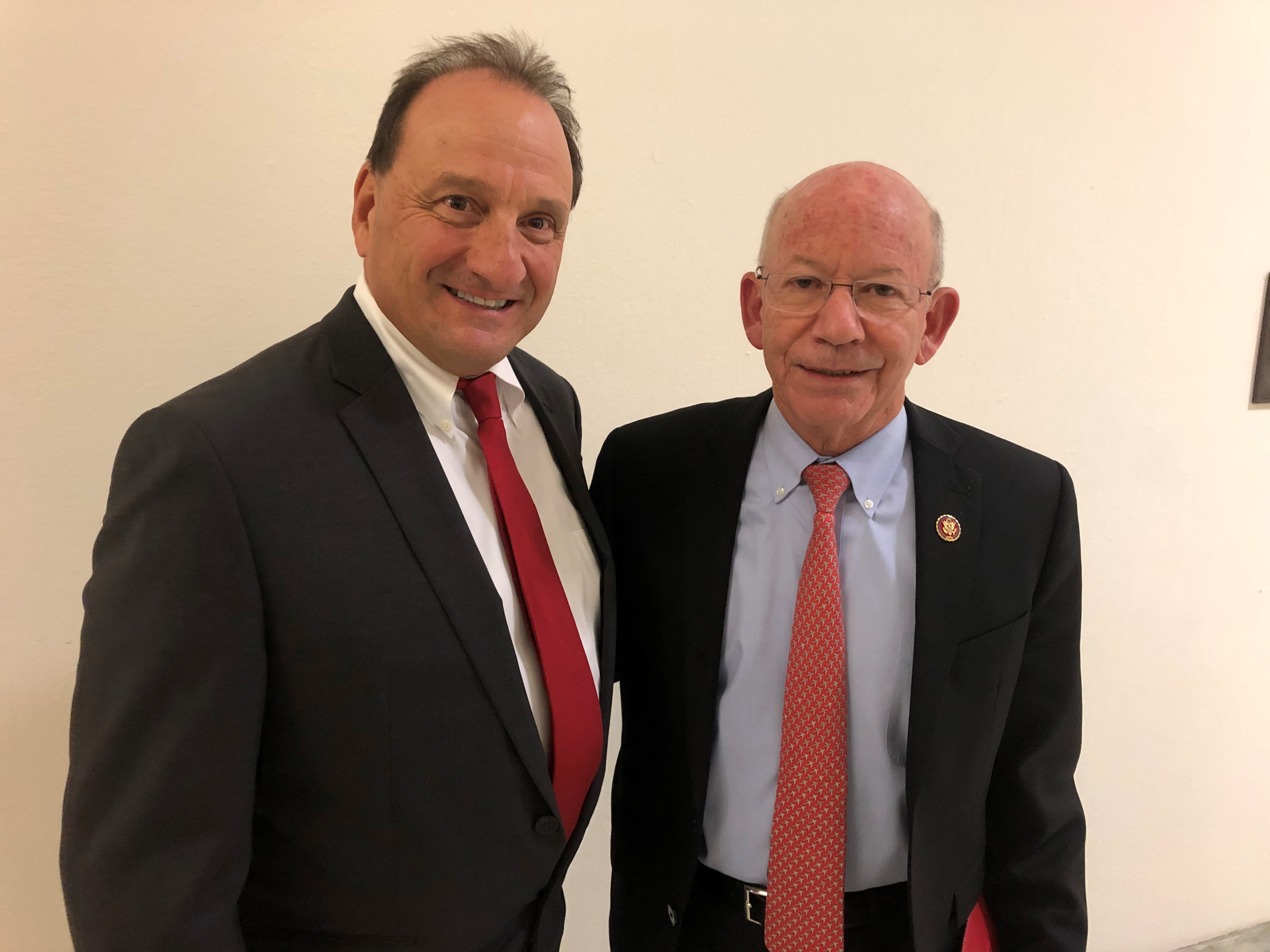 Arrighi with DeFazio