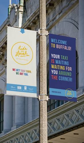 Photo: Ride Local Customized Banners