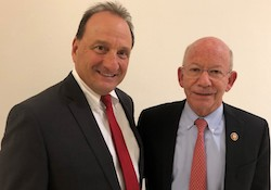 Photo: Tom Arrighi & Rep. Peter DeFazio